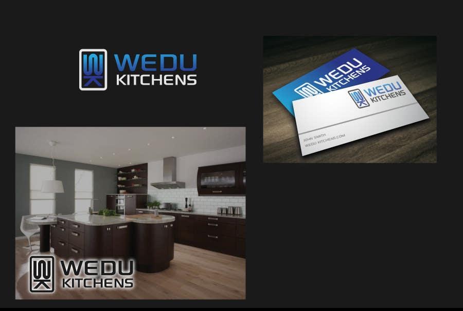 #166 for Logo Design for Wedu Kitchens by danumdata