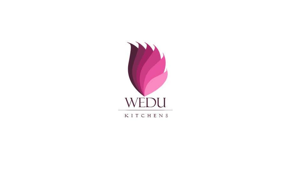 Kilpailutyö #289 kilpailussa Logo Design for Wedu Kitchens
