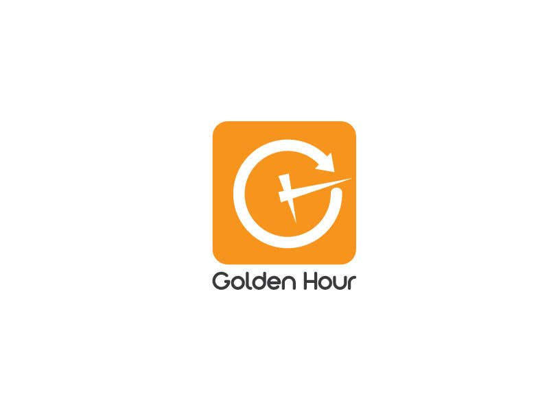 Entry #106 by alkafi723 for Golden hour (logo & app icon