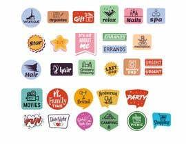 Nro 21 kilpailuun Design Stickers for Planner/Organizer käyttäjältä tomislavfedorov