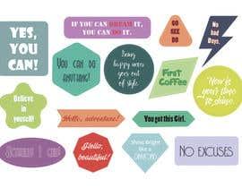 Nro 11 kilpailuun Design Stickers for Planner/Organizer käyttäjältä MariyaMaxim