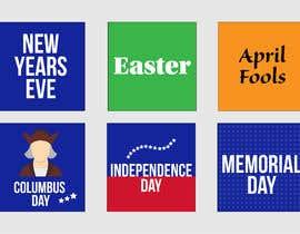 Nro 5 kilpailuun Design Stickers for Planner/Organizer käyttäjältä cDotsOnline
