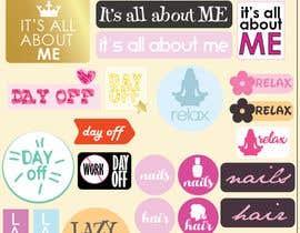 Nro 3 kilpailuun Design Stickers for Planner/Organizer käyttäjältä PixiePie