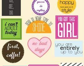Nro 4 kilpailuun Design Stickers for Planner/Organizer käyttäjältä PixiePie