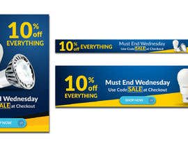 #77 for Design 3 Banners - 10% OFF Everything by jiparvej95
