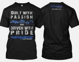 #107 for Best well designed performance shop business T-shirt! by nbclicks