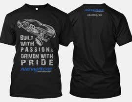 #110 for Best well designed performance shop business T-shirt! by nbclicks