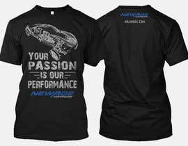 #111 for Best well designed performance shop business T-shirt! by nbclicks