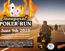 #40 for Inuagural poker run flyer by millertelier