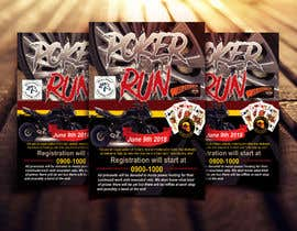 #32 for Inuagural poker run flyer by narayaniraniroy
