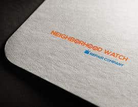 #8 cho Desig a logo for Neighborhood Watch Repair Company bởi abmahrub21