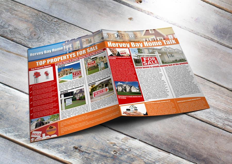 Bài tham dự cuộc thi #                                        9                                      cho                                         Real Estate Newsletter/Brochure