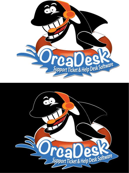 Konkurrenceindlæg #                                        27                                      for                                         Logo Design is required for software company called OrcaDesk. (related to support ticketing systems)