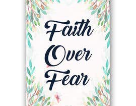 #56 for Faith Over Fear Book Cover by naveen14198600