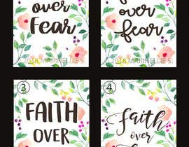 #65 for Faith Over Fear Book Cover by NELRANO