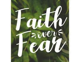 #76 for Faith Over Fear Book Cover by edyna9