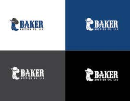 #26 para Logo Design - Baker Auction Co por AllGraphicsMaker