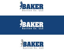 #30 para Logo Design - Baker Auction Co por AllGraphicsMaker
