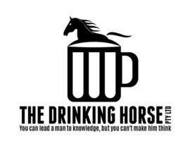 "#46 untuk Design a Logo for ""THE DRINKING HORSE PTY LTD"" oleh moro2707"