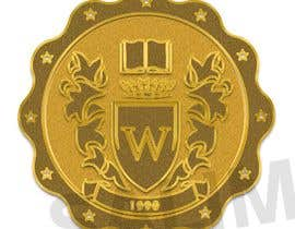 #8 for make my logo into gold foil by damiimad