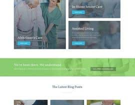 #3 untuk Make a website mockup / visual design for our senior care home oleh AKandStudio
