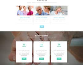#4 untuk Make a website mockup / visual design for our senior care home oleh stevewordpress