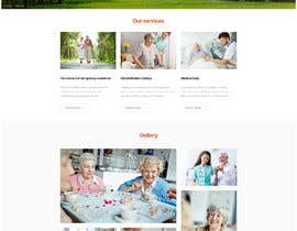 #5 untuk Make a website mockup / visual design for our senior care home oleh stevewordpress