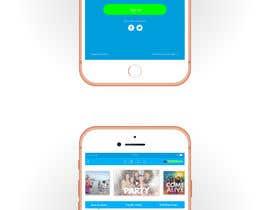 Nro 9 kilpailuun I Need Mobile App Mock-Up With Wireframe Included käyttäjältä anupamcg