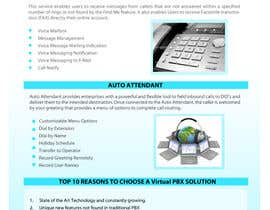 #2 for Graphic Design for Business VOIP Single Page Site by mnjprsnn