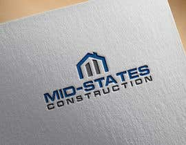 #63 cho Mid-States Construction Logo Needed bởi crystaldesign85