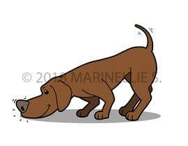 #41 for Cartoon dog drawing - Vector by NELRANO