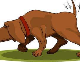 #59 cho Cartoon dog drawing - Vector bởi ToaMota