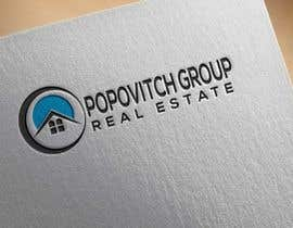 #136 cho LOGO DESIGN: Popovitch Group Real Estate bởi alamin16ah