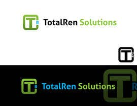 #34 para Logo Design for TotalRen Solutions por robertcjr