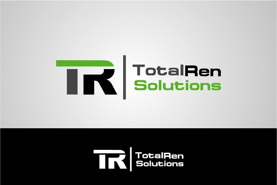 Bài tham dự cuộc thi #                                        98                                      cho                                         Logo Design for TotalRen Solutions