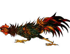 #24 for A rooster tatoo design by eybratkaa