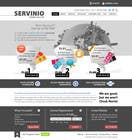 #8 for Website Design for servinio by halfadrenalin