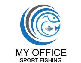 #71 for MY OFFICE SPORT FISHING LOGO by shakilhd99