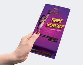 #4 for Design a Flyer OF A TWERK DANCE CLASS by davidtedeev