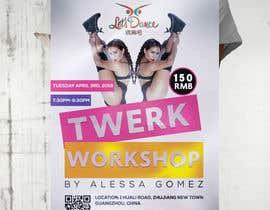 #19 for Design a Flyer OF A TWERK DANCE CLASS by zouhairgfx