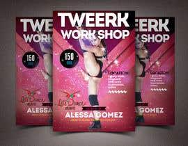 #29 for Design a Flyer OF A TWERK DANCE CLASS by khaledmohamed15r