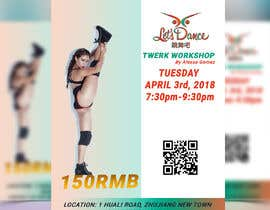 #25 for Design a Flyer OF A TWERK DANCE CLASS by khshawon33
