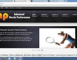 #166 pentru Graphic Design for Advanced Muscle Performance de către dworker88