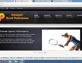 #165 pentru Graphic Design for Advanced Muscle Performance de către dworker88