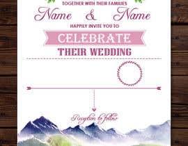 Nro 34 kilpailuun Design wedding invitation for a farm themed wedding käyttäjältä Quay3010