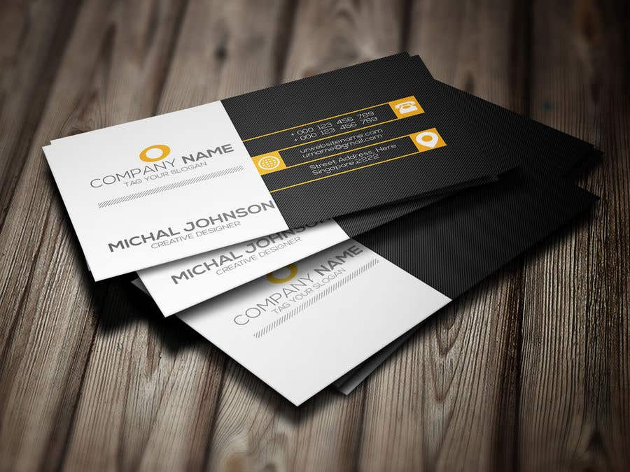Entry #5 by tanjilaakhi for I want Printable design business card ...