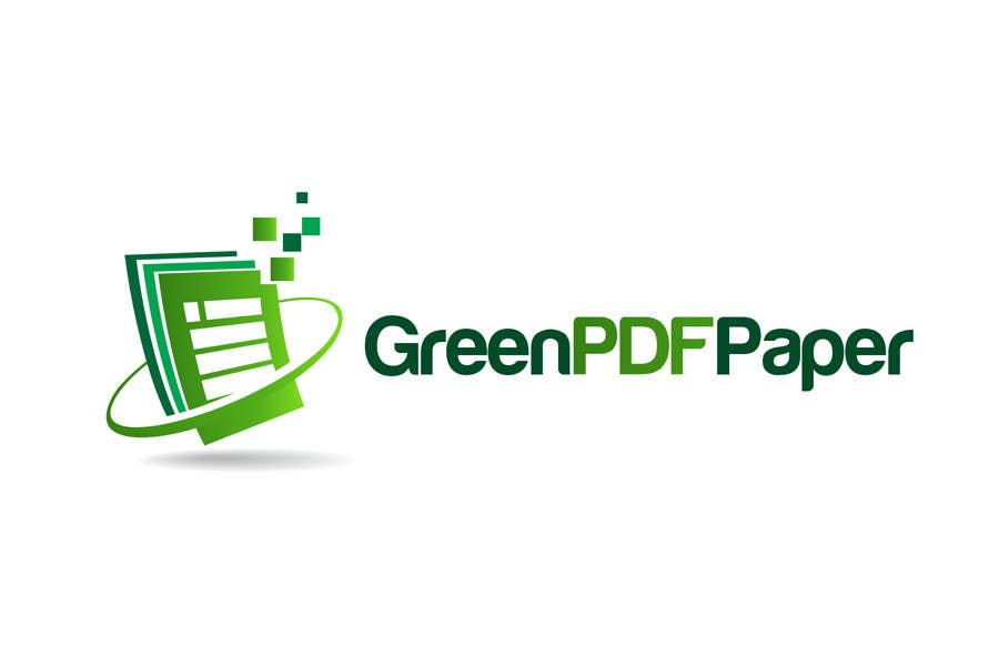 #175 for Logo Design for Green PDF Paper by ulogo