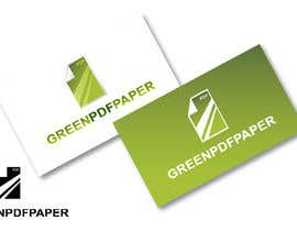 #172 para Logo Design for Green PDF Paper por akshaydesai