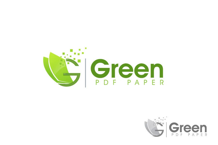 #409 for Logo Design for Green PDF Paper by RIOHUZAI