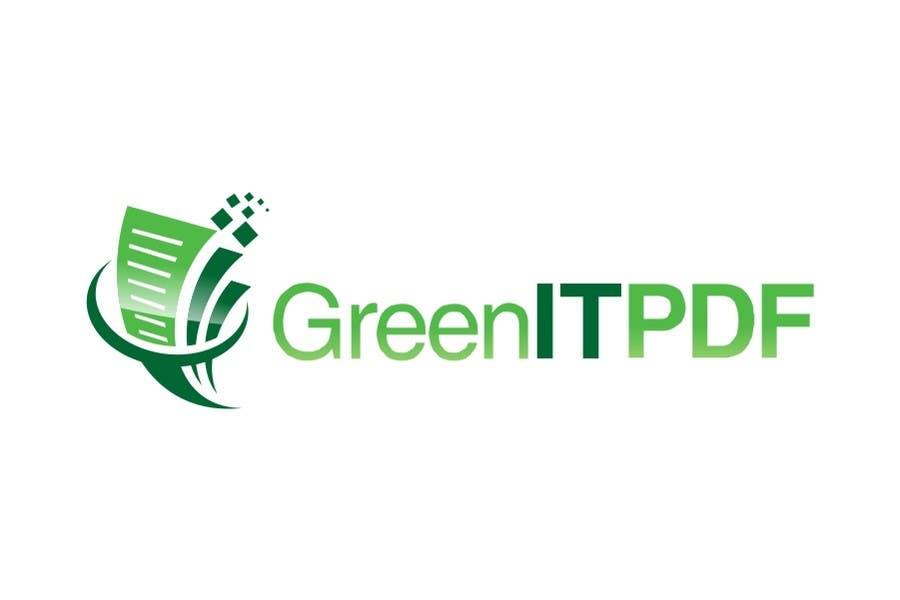 #72 for Logo Design for Green PDF Paper by jummachangezi